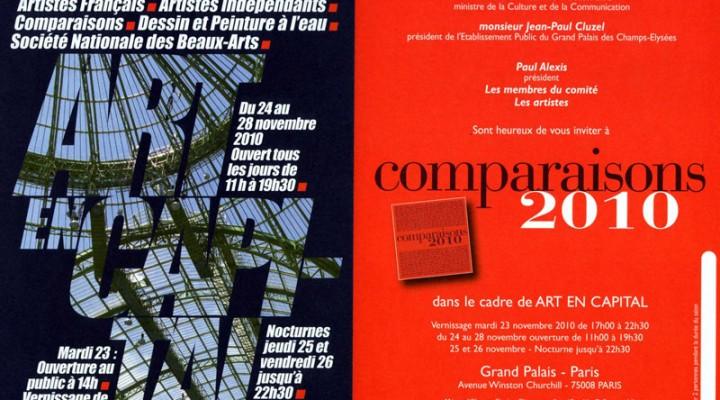Salon Comparaisons 2009 et 2010